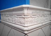 подрезка объемного керамического бордюра