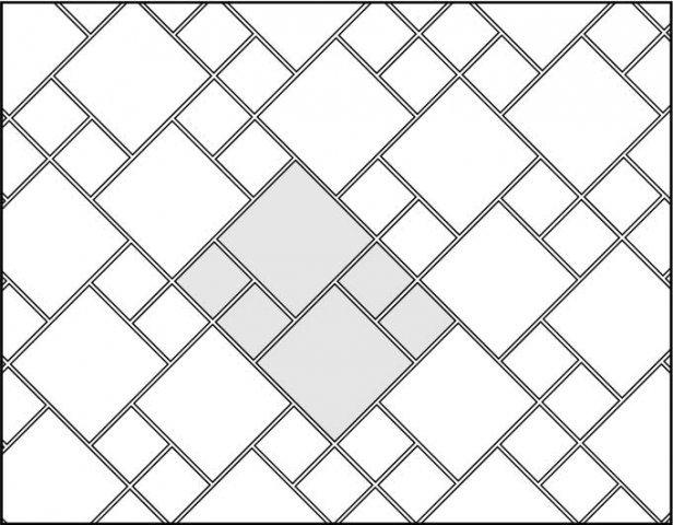 варианты раскладки плитки в коридоре
