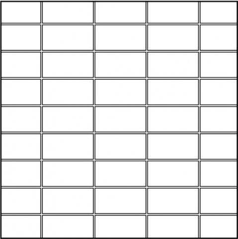 50 вариантов раскладки плитки